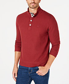 Tommy Bahama Men's Cold Spring Mock Neck Knit, Created for Macy's