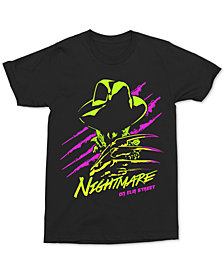 Changes Men's Neon Freddy Graphic T-Shirt