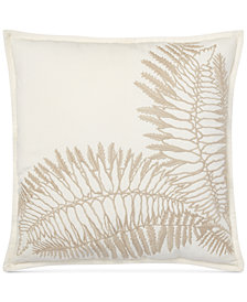 "Lauren Ralph Lauren Hadley Embroidered 18"" Square Decorative Pillow"