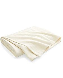 Lauren Ralph Lauren Cotton Woven Chevron King Bed Blanket
