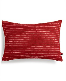 Tommy Hilfiger Beechville Cotton Slub Decorative Pillow