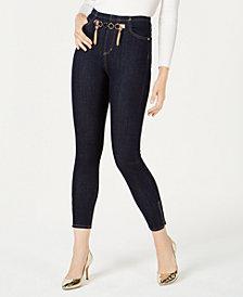 GUESS Marilyn Hardware-Embellished Skinny Jeans