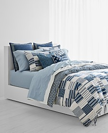 CLOSEOUT! Lauren Ralph Lauren Kyle Reversible 200-Thread Count Bedding Collection