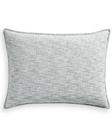 Hotel Collection Seaglass Cotton Quilted Standard Sham, Created for Macy's