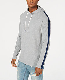 American Rag Men's Striped Sleeve Hoodie, Created for Macy's