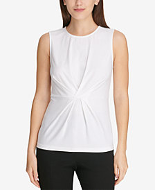 DKNY Center-Pleat Shell, Created for Macy's