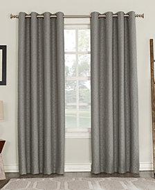 """Sun Zero Tullis Puckered 52"""" x 84"""" Blackout Lined Grommet Curtain Panel"""