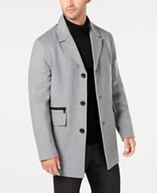 Calvin Klein Men's Wool Overcoat