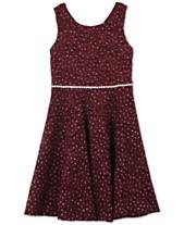 65421eb033db Red Girls  Dresses - Macy s