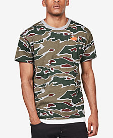 G-Star RAW Men's Sverre Camouflage T-Shirt, Created for Macy's