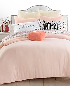 Whim by Martha Stewart Collection Crinkle Carnation Bedding Collection, Created for Macy's