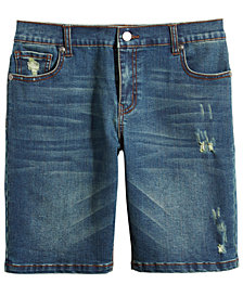Epic Threads Big Boys Kenmare Denim Shorts, Created for Macy's