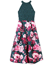 Speechless Big Girls Sequin Embroidered Dress