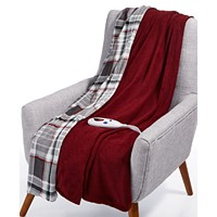 Biddeford Heated Electric Plush Throw