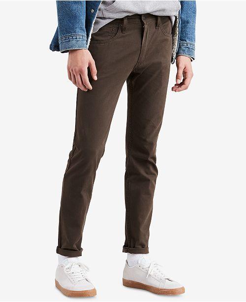 d10d9c1da Levi s Men s 512™ Slim Tapered Slub Twill Jeans   Reviews - Jeans ...