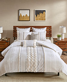 INK+IVY Imani 3-Pc. Full/Queen Cotton Comforter Mini Set