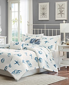 Beach House 3-Pc. King Reversible Duvet Cover Set