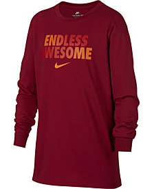 Nike Big Boys Awesome-Print Cotton T-Shirt
