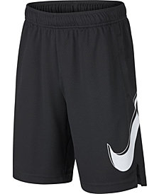 Nike Big Boys Logo-Print Training Shorts