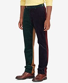 Polo Ralph Lauren Men's Colorblocked Corduroy Classic Fit Stretch Pants