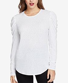 RACHEL Rachel Roy Gemima Drape-Shoulder Top, Created for Macy's