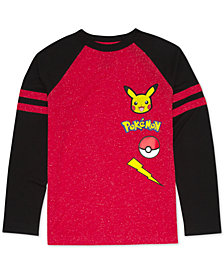 Pokémon Big Boys Pikachu Graphic T-Shirt