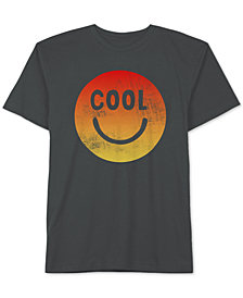 Jem Toddler Boys Cool Smiley Face Graphic Cotton T-Shirt