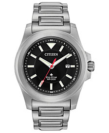 Citizen Eco-Drive Men's Promaster Tough Stainless Steel Bracelet Watch 42mm