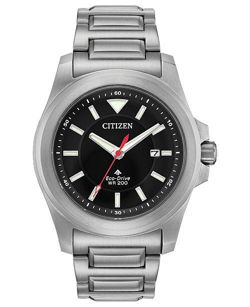 2fa9b16a6746d ... Citizen Eco-Drive Men s Promaster Tough Stainless Steel Bracelet Watch  ...