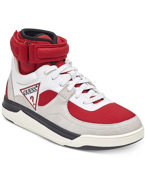 0674528a5bd48 GUESS Men's Woody High-Top Sneakers & Reviews - All Men's ...