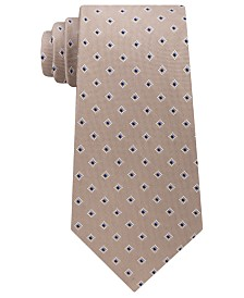 Michael Kors Men's Bicolor Neat Silk Tie