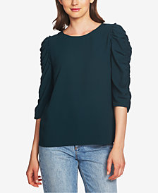 1.STATE Ruffled Puffed Top