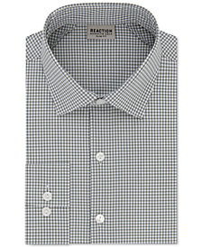 Kenneth Cole Reaction Men's Slim-Fit Check Dress Shirt