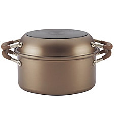 Anolon Advanced  2-in-1 Nonstick 5qt Dutch Oven With Everything Pan Lid