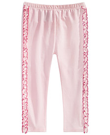 First Impressions Baby Girls Ruffle-Trim Leggings, Created for Macy's