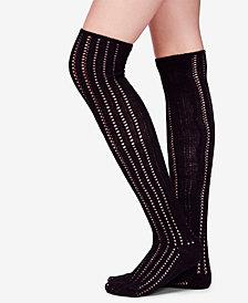 Free People Woodland Pointelle Over-The-Knee Socks