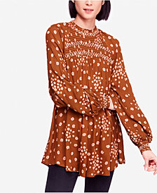 Free People Flowers In Her Hair Printed Tunic