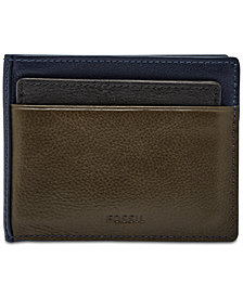 Fossil Men's Raymond Leather 2-In-1 Wallet