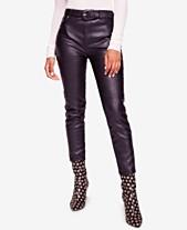 269df57f90bbd Faux Leather Pants  Shop Faux Leather Pants - Macy s