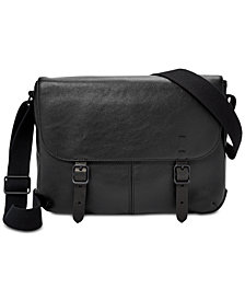 Fossil Men's Buckner Leather Commuter Bag