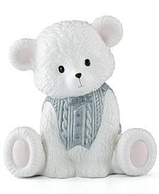 Lenox Baby Bear Blue Boy Bank