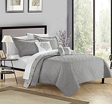 Chic Home Zoe 5 Piece King Quilt Set