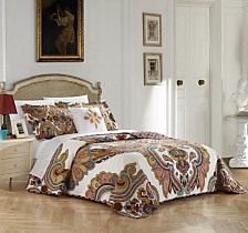 Chic Home Ember 4 Piece Queen Quilt Set