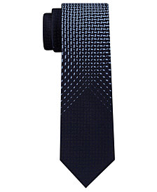 Kenneth Cole Reaction Men's Fade Out Panel Skinny Tie