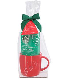 Starbucks Red Mug Cocoa Gift