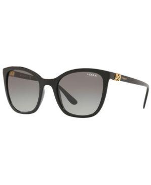 VOGUE Eyewear Sunglasses, Vo5243Sb 53 in Black / Grey Gradient