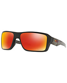 Oakley Polarized Sunglasses, OO9380 66 Double Edge