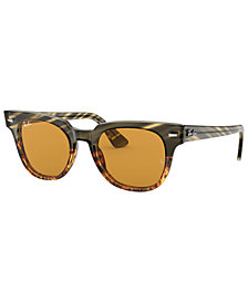 Ray-Ban Sunglasses, RB2168 METEOR STRIPED HAVANA