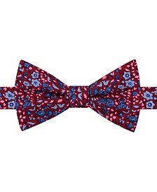 Tommy Hilfiger Men's Botanical Pre-Tied Bow Tie