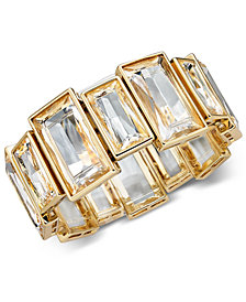 Alfani Crystal Stretch Bracelet, Created for Macy's